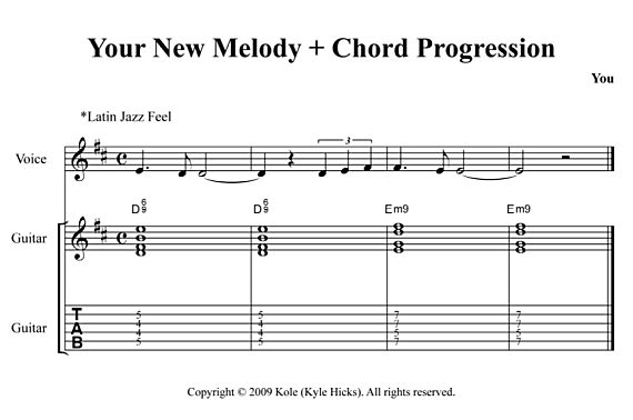 Adding Color to Your Music (Replacing 1 With 9) | Guitar Nine