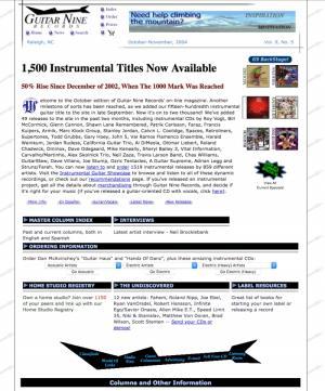Guitar Nine 2004