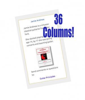 Jamie Andreas - 36 Columns