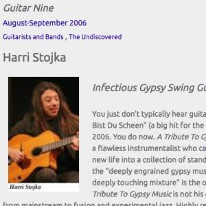 Harri Stojka: Infectious Gypsy Swing Guitarist (Aug 2006)