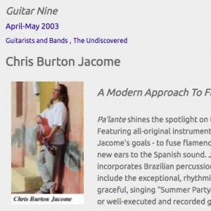 Chris Burton Jacome: A Modern Approach To Flamenco (Apr 2003)