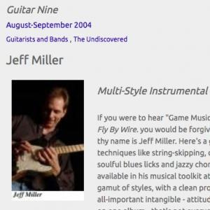Jeff Miller: Multi-Style Instrumental Guitarist (Aug 2004)