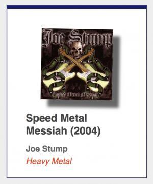 "#11: Joe Stump ""Speed Metal Messiah"""