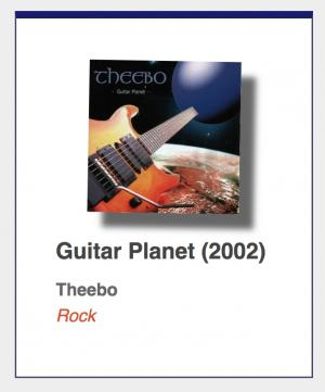 "#28: Theebo ""Guitar Planet"""