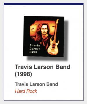 "#42: Travis Larson Band ""Travis Larson Band"""