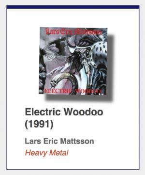 "#43: Lars Eric Mattsson ""Electric Woodoo"""