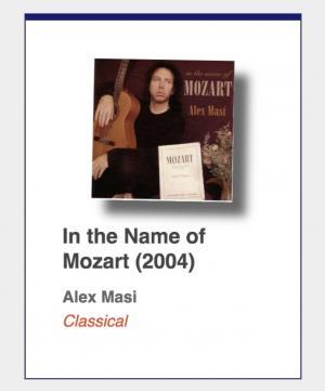 "#81: Alex Masi ""In the Name of Mozart"""