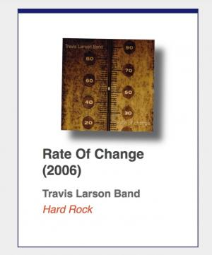 "#86: Travis Larson Band ""Rate Of Change"""