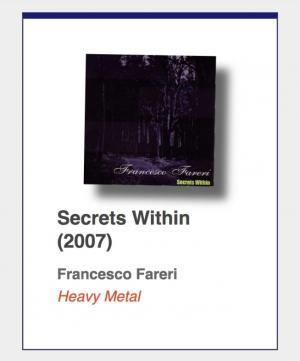 "#91: Francesco Fareri ""Secrets Within"""