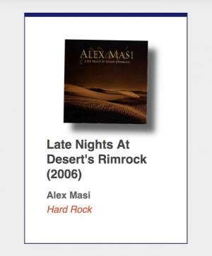 "#93: Alex Masi ""Late Nights At Desert's Rimrock"""