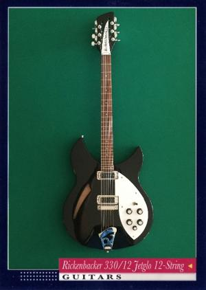Rickenbacker 330/12 Jetglo 12-String