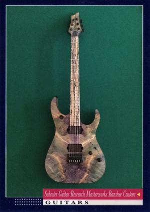 Schecter Guitar Research Masterworks Banshee Custom