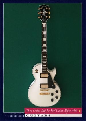 Gibson Custom Shop Les Paul Custom Alpine White
