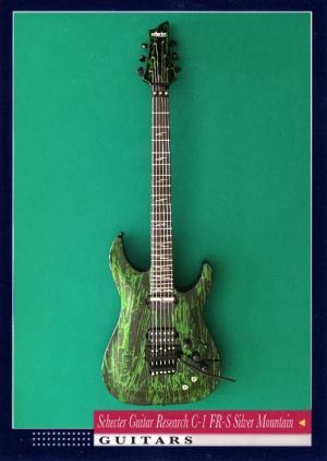 Schecter Guitar Research C-1 FR-S Silver Mountain