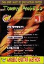 """Tommy Angelo """"Angelo Guitar Method, Steve Vai, Vol. 1"""""""