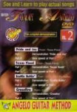 """Tommy Angelo """"Angelo Guitar Method, Stevie Ray Vaughan, Vol. 2"""""""