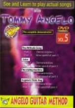 """Tommy Angelo """"Angelo Guitar Method, Steve Vai, Vol. 5"""""""