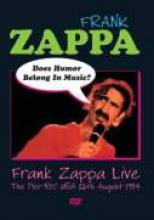 "Frank Zappa ""Does Humor Belong In Music?"""