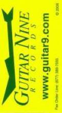 """Yellow Guitar Nine Business Card"""