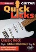 """Danny Gill """"Quick Licks: Classic Rock, Richie Blackmore"""""""