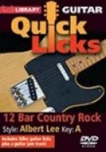 "Steve Trovato ""Quick Licks: 12 Bar Country Rock, Albert Lee"""