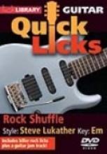 """Michael Casswell """"Quick Licks: Rock Shuffle, Steve Lukather"""""""