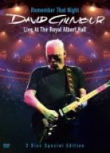 "David Gilmour ""Remember That Night: Live At The Royal Albert Hall"""