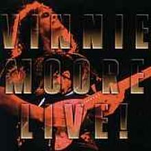 """Vinnie Moore """"Vinnie Moore Live!"""""""