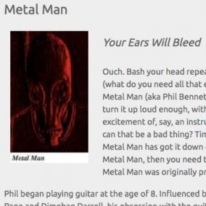 Metal Man: Your Ears Will Bleed (Oct 2014)