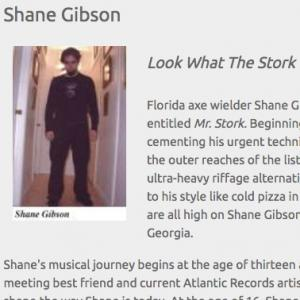 Shane Gibson: Look What The Stork Brought (Aug 2005)