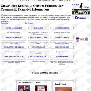 Guitar Nine 1996