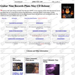 Guitar Nine 1997