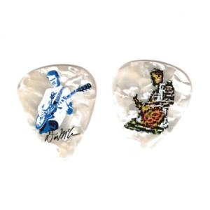 Dan McAvinchey Signature White Pearl Double-sided