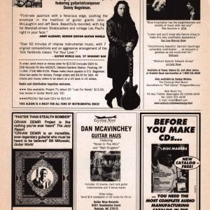Guitar World Ad, 1997 (#6)
