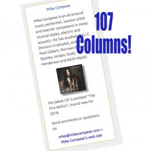 Mike Campese - 107 Columns