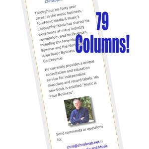 Christopher Knab - 79 Columns