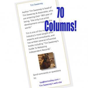 Tim Sweeney - 70 Columns