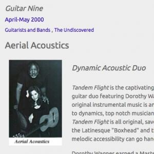 Aerial Acoustics: Dynamic Acoustic Duo (Apr 2000)