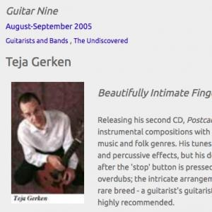 Teja Gerken: Beautifully Intimate Fingerstyle (Aug 2005)
