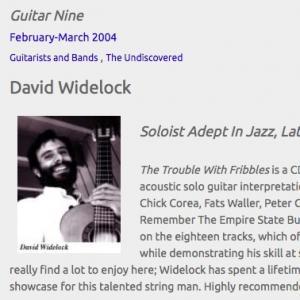 David Widelock: Soloist Adept In Jazz, Latin, Funk & Pop (Feb 2004)