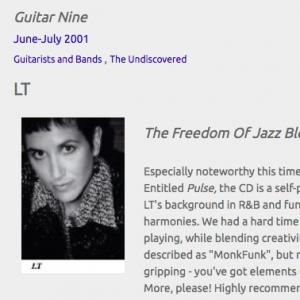 LT: The Freedom Of Jazz Blended With The Foundation Of Soul (Jun 2001)