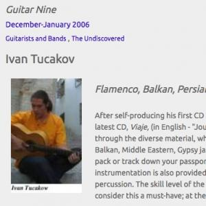 Ivan Tucakov: Flamenco, Balkan, Persian & More (Dec 2006)