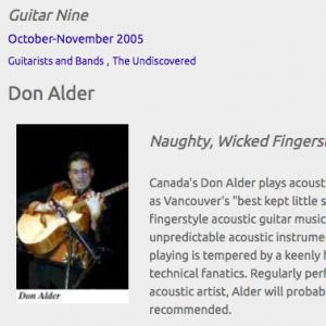 Don Alder: Naughty, Wicked Fingerstyle (Oct 2005)