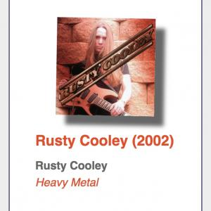 "#1: Rusty Cooley ""Rusty Cooley"""