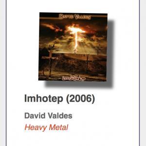 "#20: David Valdes ""Imhotep"""