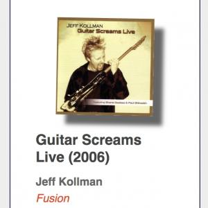 "#41: Jeff Kollman ""Guitar Screams Live"""