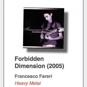 "Francesco Fareri ""Forbidden Dimension"""