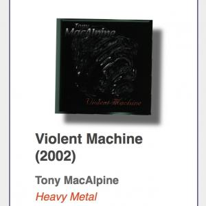 "#49: Tony MacAlpine ""Violent Machine"""