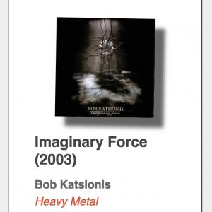 "#52: Bob Katsionis ""Imaginary Force"""