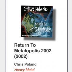 "Chris Poland ""Return To Metalopolis 2002"""